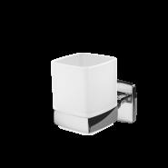 Стеклянный стакан с настенным держателем AM.PM Gem, A9034300