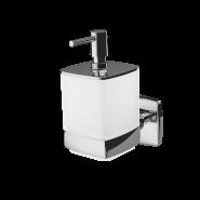 Стеклянный диспенсер для жидкого мыла с настенным держателем AM.PM Gem, A9036900