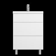 Тумба с раковиной AM.PM Gem, 610х420 мм, M90-FSX0602-WC0602WG