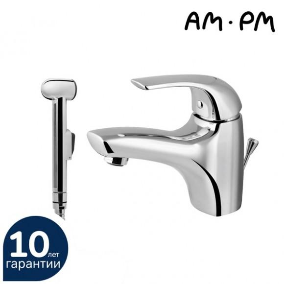 Смеситель для раковины AM.PM Sense,122 мм, F7503000