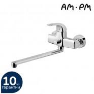 Смеситель для ванны и душа AM.PM Sense, 300 мм, F7590032, , 9 884 руб., F7590032, AM.PM, Смесители с длинным изливом
