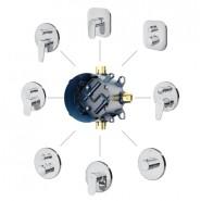 Модуль для установки встраиваемых смесителей AM.PM MultiDock, F100100, , 8 763 руб., F100100, AM.PM, Комплектующие для смесителей