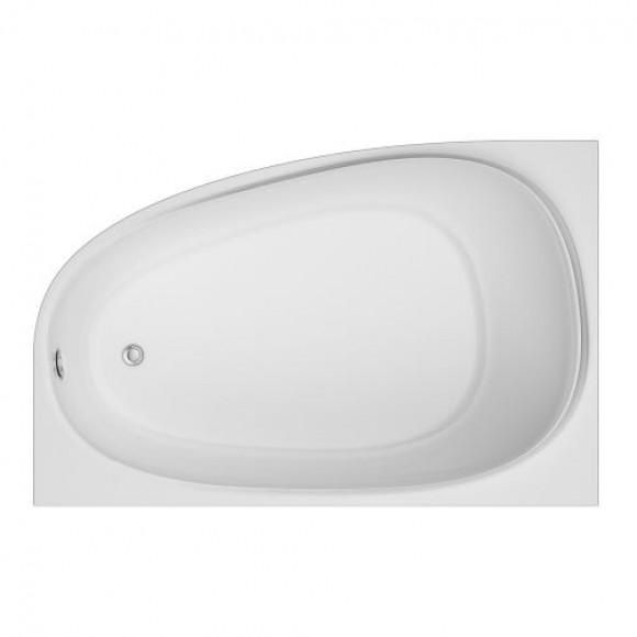 Угловая акриловая ванна левосторонняя AM.PM Like, 170х110 см, W80A-170L110W-A