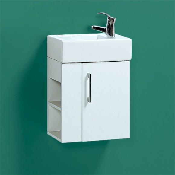 Тумба для ванной Акваль Паола 46, 470х450 мм, EP.46.00.00.L/R