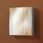 Шкаф зеркальный Акваль Марта 60, 660х600 мм, 04.60.00.N