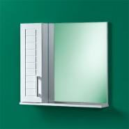 Шкаф зеркальный Акваль Анна 75, 680х750 мм, 04.75.00.L, , 5 305 руб., 04.75.00.L, Акваль, Беларусь, Зеркальные шкафы