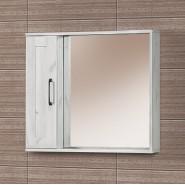 Шкаф зеркальный подвесной Акваль Гала 80, 692х800 мм, ГАЛА.04.80.00.N, , 5 686 руб., ГАЛА.04.80.00.N, Акваль, Беларусь, Зеркальные шкафы
