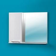 Шкаф зеркальный Акваль Санта 85, 676х850 мм, 04.85.00.L/R