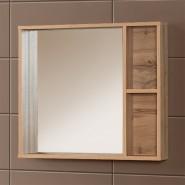 Шкаф зеркальный подвесной Акваль Вок 80, 700х800 мм, В2.4.04.8.0.0, , 4 423 руб., В2.4.04.8.0.0, Акваль, Беларусь, Зеркальные шкафы