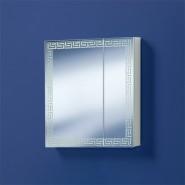 Шкаф зеркальный Акваль Паола 60, 660х594 мм, EP.04.60.12.N