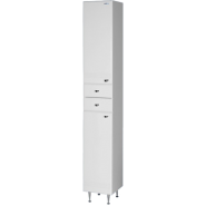 Пенал Aqualife Астурия 29 с двумя ящиками, одинарный, 285х1800 мм, 3-006-000-L , , 5 104 руб., 3-006-000-L, Aqualife, Пеналы для ванных комнат