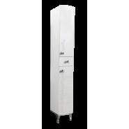 Пенал Aqualife Авила с ящиком, одинарный, 280х1800 мм, 3-222-000-L , , 5 533 руб., 3-222-000-L, Aqualife, Пеналы для ванных комнат