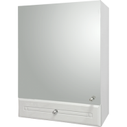 Зеркальный шкаф Aqualife Валенсия 50, с одним ящиком, одинарный, , 4 125 руб., Валенсия , Aqualife, Зеркальные шкафы