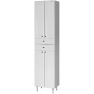 Пенал Aqualife Валенсия 43, с двумя ящиками, двойной, 430х1800 мм, 3-011-000, , 5 949 руб., 3-011-000, Aqualife, Пеналы для ванных комнат