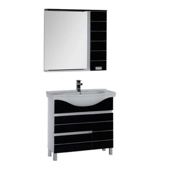 Комплект мебели Aquanet Доминика 90, 915х1755 мм, 172406