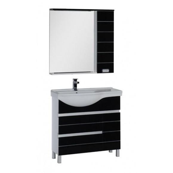 Комплект мебели Aquanet Доминика 90 L, 905х1755 мм, 176649