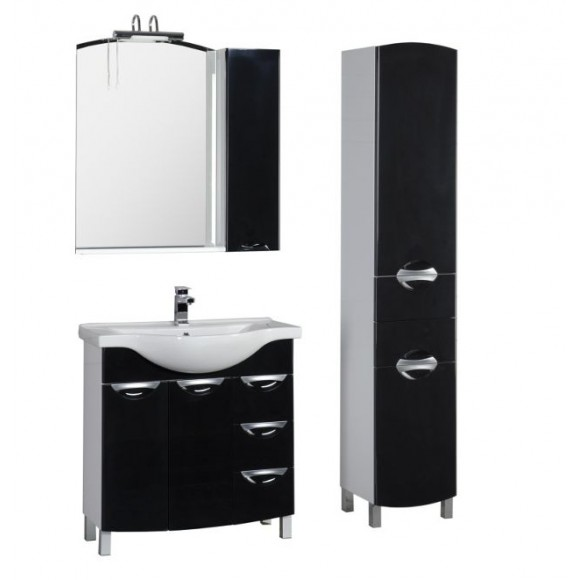 Комплект мебели Aquanet Асти 85, 850х1863 мм, 178432