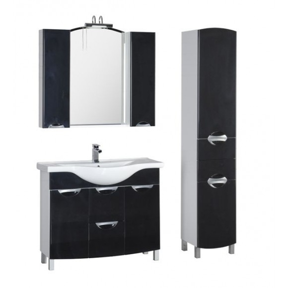 Комплект мебели Aquanet Асти 105 б/к, 1050х1715 мм, 178434
