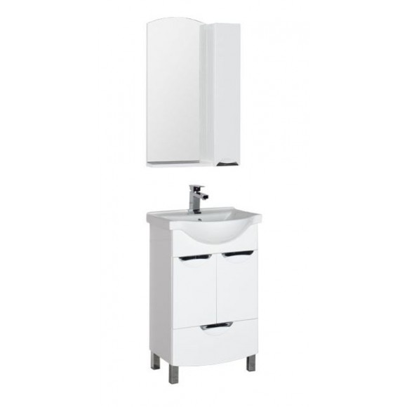 Комплект мебели Aquanet Асти 55 М, 550х1753 мм, 180326