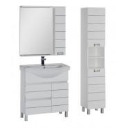 Комплект мебели Aquanet Доминика 90 L, 905х1755 мм, 176648, , 33 224 руб., 176648, Aquanet, Комплекты мебели