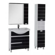 Комплект мебели Aquanet Доминика 80 б/к, 800х1755 мм, 172412