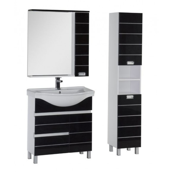 Комплект мебели Aquanet Доминика 80, 800х1755 мм, 171329