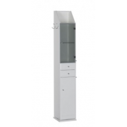 Шкаф-пенал Aquanet Марсель 32, 320х1930 мм, 101157, , 17 380 руб., 101157, Aquanet, Пеналы для ванных комнат