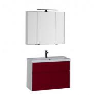 Комплект мебели Aquanet Латина 90, 900х1400 мм, 181087, , 32 962 руб., 181087, Aquanet, Комплекты мебели