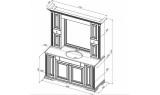 Столешница Aquanet Кастильо 160, 183153