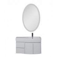 Комплект мебели Aquanet Сопрано 95 R, 950х1660 мм, 169345, , 80 337 руб., 169345, Aquanet, Комплекты мебели