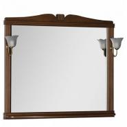 Зеркало Aquanet Николь 110, 1129х992 мм, 180521, , 12 871 руб., 180521, Aquanet, Прямоугольные зеркала