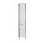 Шкаф-пенал Aquanet Паола 40, 409х2000 мм, 186112, , 35 049 руб., 186112, Aquanet, Пеналы для ванных комнат