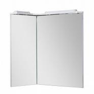 Зеркало Aquanet Корнер 80 L, 880х1113 мм, 158820, , 14 891 руб., 158820, Aquanet, Зеркала с подсветкой