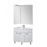 Комплект мебели Close L Aquanet Корнер 55х80, 880х2050 мм, 161232, , 42 572 руб., 161232, Aquanet, Комплекты мебели