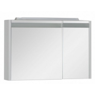 Зеркальный шкаф Aquanet Лайн 90 L, 890х600 мм, 165582, , 17 960 руб., 165582, Aquanet, Зеркальные шкафы