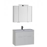 Комплект мебели Aquanet Латина 90, 900х1400 мм, 179840, , 45 200 руб., 179840, Aquanet, Комплекты мебели