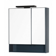 Зеркальный шкаф RAL-7031 Aquanet Виго 80, 790х860 мм, 183362, , 25 148 руб., 183362, Aquanet, Зеркальные шкафы