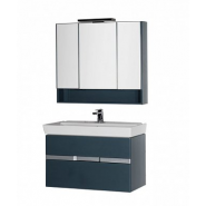 Комплект мебели RAL-7031 Aquanet Виго 100, 975х1511 мм, 183666, , 87 695 руб., 183666, Aquanet, Комплекты мебели