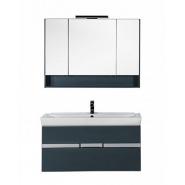 Комплект мебели RAL-7031 Aquanet Виго 120, 1186х1511 мм, 183670, , 103 646 руб., 183670, Aquanet, Комплекты мебели