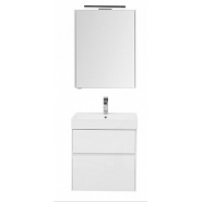 Комплект мебели Aquanet Бруклин 60, 605х1412 мм, 207803, , 27 034 руб., 207803, Aquanet, Комплекты мебели