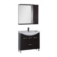 Комплект мебели Aquanet Донна 90, 900х1734 мм, 169193, , 21 629 руб., 169193, Aquanet, Комплекты мебели