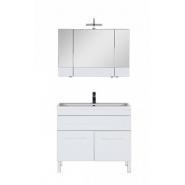 Комплект мебели Aquanet Верона 100, 1002х1542 мм, 182942, , 38 307 руб., 182942, Aquanet, Комплекты мебели