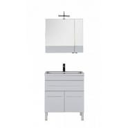 Комплект мебели Aquanet Верона 75, 750х1545 мм, 182946, , 31 146 руб., 182946, Aquanet, Комплекты мебели