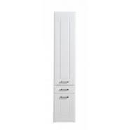 Шкаф-пенал Aquanet Рондо 35, 354х1800 мм, 189159, , 15 029 руб., 189159, Aquanet, Пеналы для ванных комнат