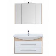 Комплект мебели Aquanet Остин 105, 1055х1420 мм, 209995, , 33 822 руб., 209995, Aquanet, Комплекты мебели