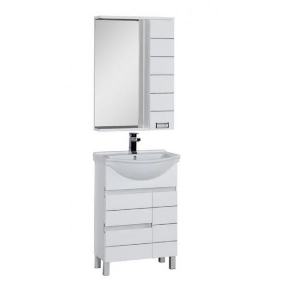 Комплект мебели Aquanet Доминика 60, 610х1740 мм, 172403