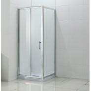 Душевой уголок без поддона BandHours Snow/Side-Glass 108, 100х80 см, 190390001