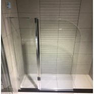 Шторка для ванны BandHours Eko 120, 120х140 см, 210220001, , 25 200 руб., 210220001, BandHours, Душевые ограждения и шторки для ванн