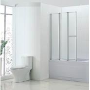 Шторка для ванны BandHours Inox 100, 100х150 см, 210160001, , 12 432 руб., 210160001, BandHours, Душевые ограждения и шторки для ванн