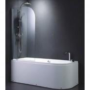 Шторка для ванны BandHours Eko 80, 80х140 см, 210140001, , 17 497 руб., 210140001, BandHours, Душевые ограждения и шторки для ванн